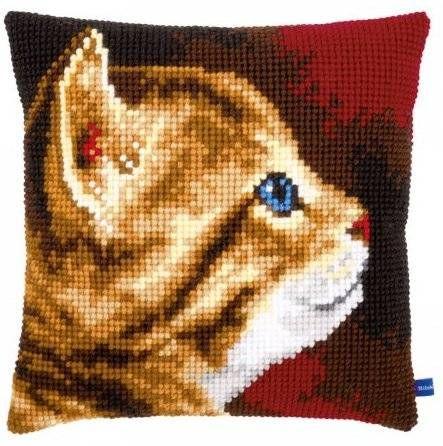 Подушка для вышивания Vervaco PN-0154895 Котенок