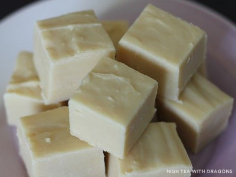 Three Ingredient Fudge - Bailey's or Rum Chata