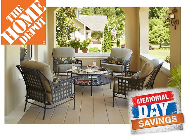 Up to 50% Off Home Depot Memorial Day Patio Furniture Sale Sale (homedepot.com)