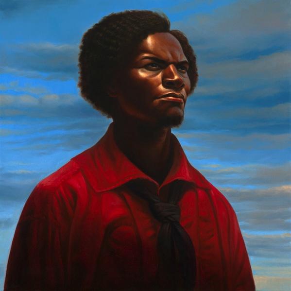 Stunning. Frederick Douglass, by Kadir Nelson.    www.kadirnelson.com