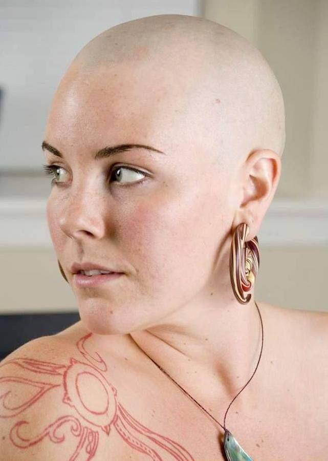Braff shaved head