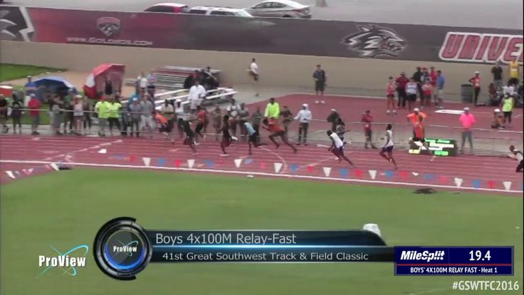 Texas 4x100m Relay Runs 39.20 At The 2016 Great Southwest Classic https://youtu.be/wVgig2vsEIc