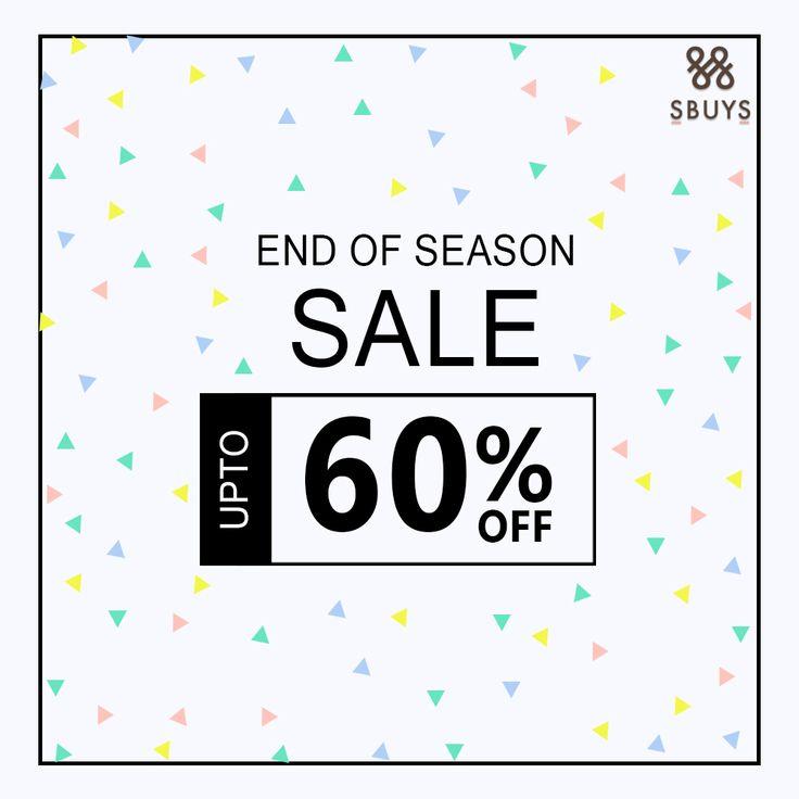 END of Season Sale Upto 60% OFF @ http://www.sbuys.in #sbuys #womenswear #stylediva #latesttrends #fashionistas #newcollection #elegant #urbanstylewear #springseason #huesandtints #newarrivals #summers #discountseason