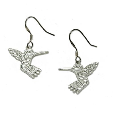 Boucles d'oreilles Colibri Prix: 20.00 $ || Humming-bird Earrings Price: $20.00