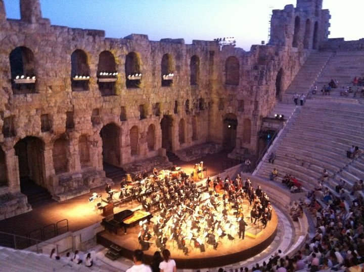 Ωδείο Ηρώδου Αττικού (Herod Atticus Odeon) in Αθήνα, Αττική