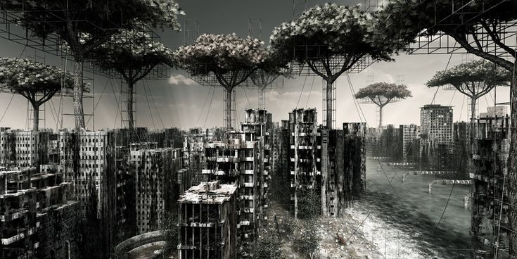 apocalyptic landscapes | Apocalyptic Urban Landscapes from Italian Artist Giacomo Costa