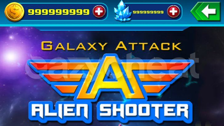 Galaxy Attack: Alien Shooter v4 0 cheat - Unlimited Gold