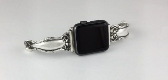 Silverplate Spoon Handle 38mm iWatch Band           Size 6 3/4