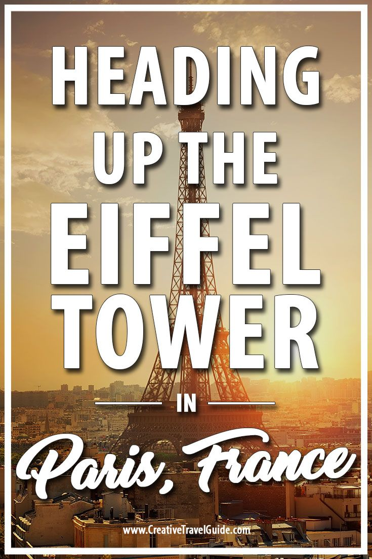 When you visit Paris, you MUST visit the Eiffel Tower - here a complete guide on visiting and heading up the iconic building.