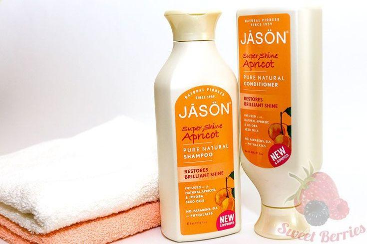 Натуральный шампунь и кондиционер для блеска волос от Jason Natural