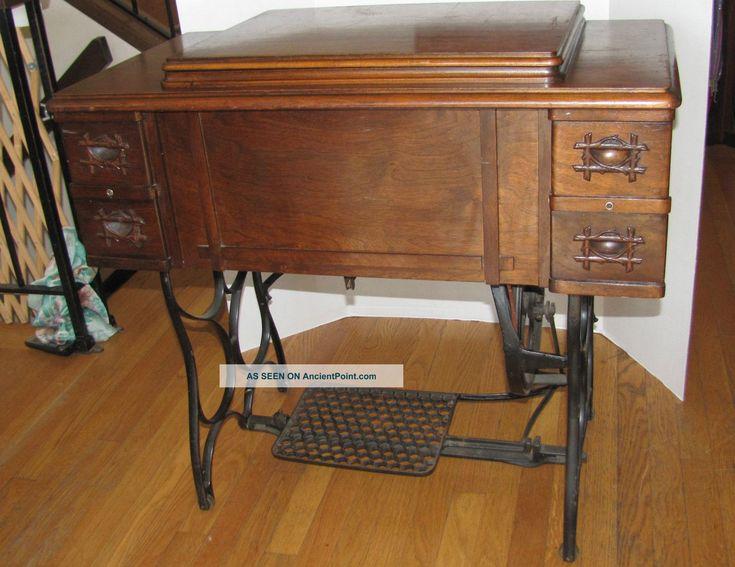 vintage white sewing machine value