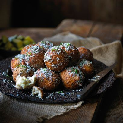 Mango Doughnuts with Vanilla Sugar - Ravinder Bhogal for Tea India via redonline uk