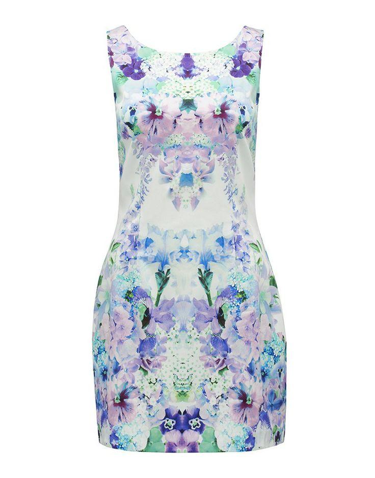 FOREVER NEW | Brynn Mirror Print Dress - Women - Style36  #style36 #xmasshopping #wishlist