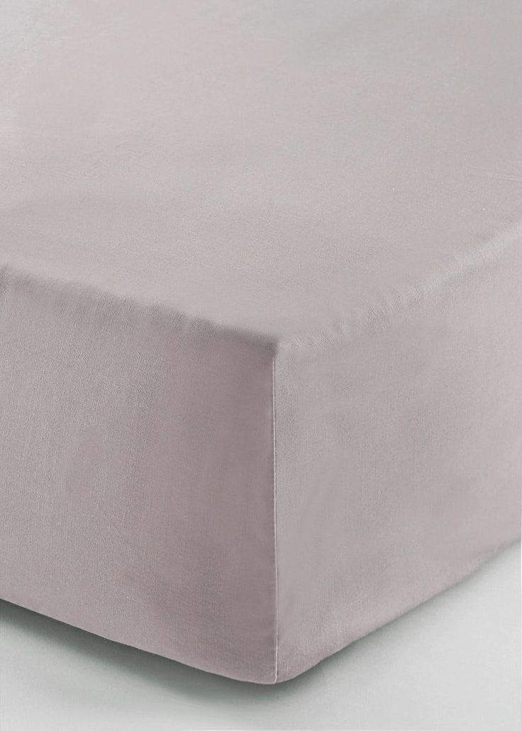 100% Cotton Percale Deep Fitted Bed Sheet (200 Thread Count) – Matalan