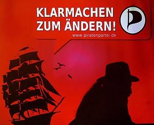 """Die Piraten unter Druck: Jetzt ist nicht mehr """"entern"""" gefragt, sondern """"ändern"""""""