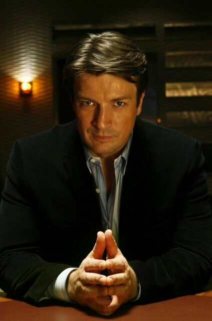 Richard Castle is... Ruggedly handsome #NathanFillion