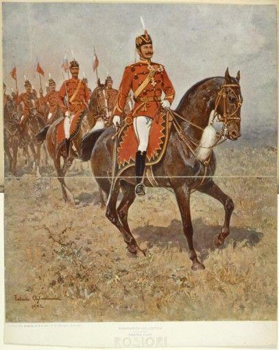 Roşiori în ţinute model 1895
