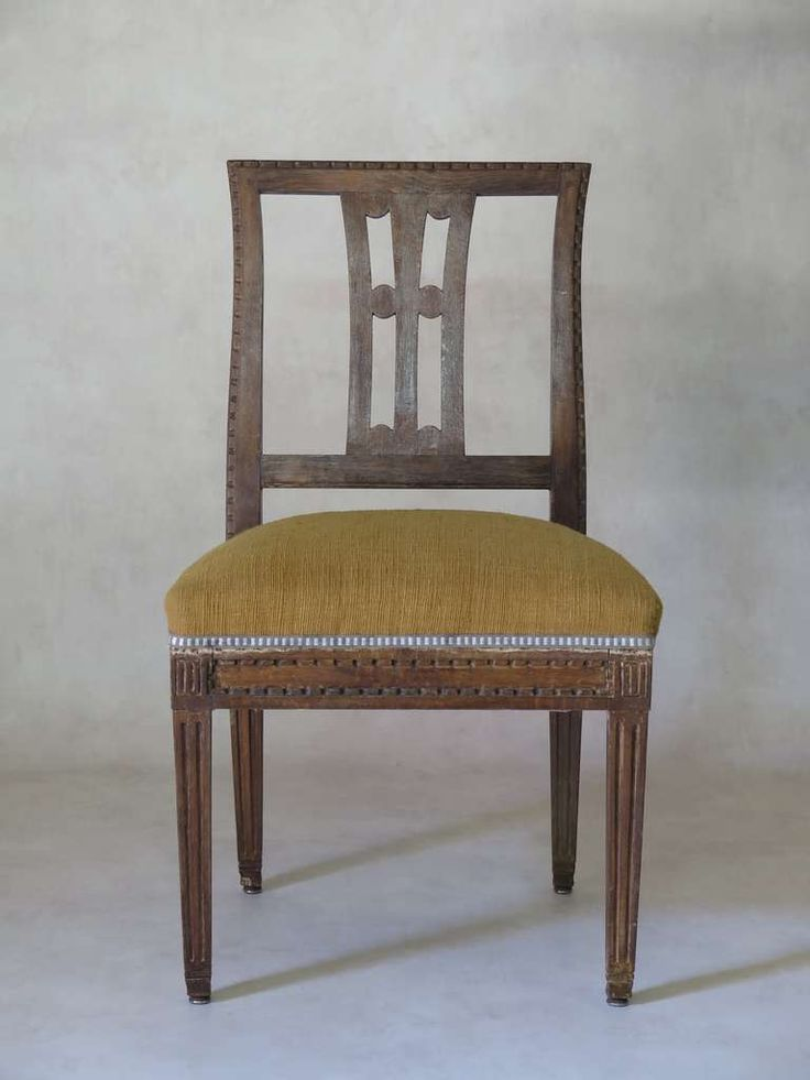 Set of 12 Dining Chairs, France, Late 18th to Early 19th Century | From a unique collection of antique and modern dining room chairs at https://www.1stdibs.com/furniture/seating/dining-room-chairs/
