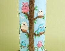 'Owl Wedding Cake' (Back)