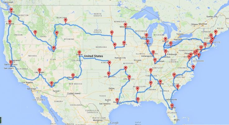 A data genius computes the ultimate American road trip this one's cities- The Washington Post