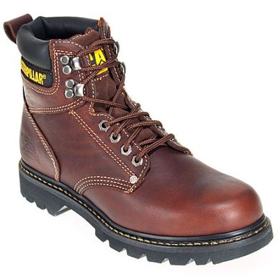 CAT Men's Steel Toe 89817 EH Nubuck Leather Boots