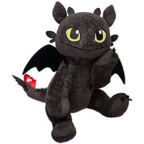 How To Train Your Dragon Build A Bear Toothless Plush - Stuffed or Unstuffed