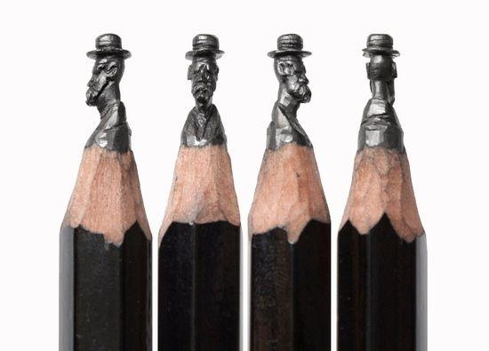 Salavat Fidai ceruzagrafit művészete