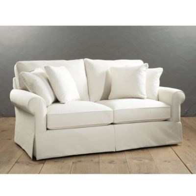 Baldwin upholstered apartment sofa ballard designs i39ll for Ballard designs sectional sofa