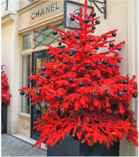 Christmas Tree Urns