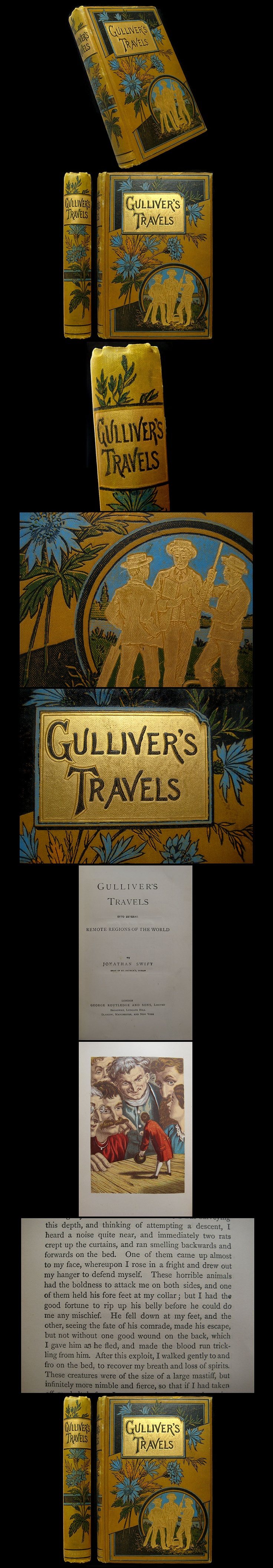an analysis of jonathan swifts gulliver travel Dive deep into jonathan swift's gulliver's travels with extended analysis, commentary, and discussion.