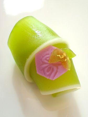 お正月上生菓子【竹】 - 大和市 福田 桜の名所 千本桜 和菓子 みどりや