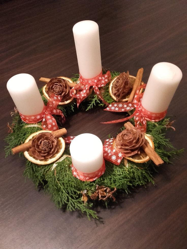 Our christmas wreath 2015