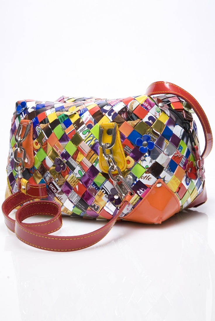 Beautiful Ollin candy wrapper bags ♥