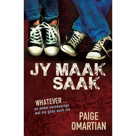 Jy Maak Saak. JY maak saak sal jongmense se harte aanraak en inspireer om hul grootste drome te oortref...Paige Omartian