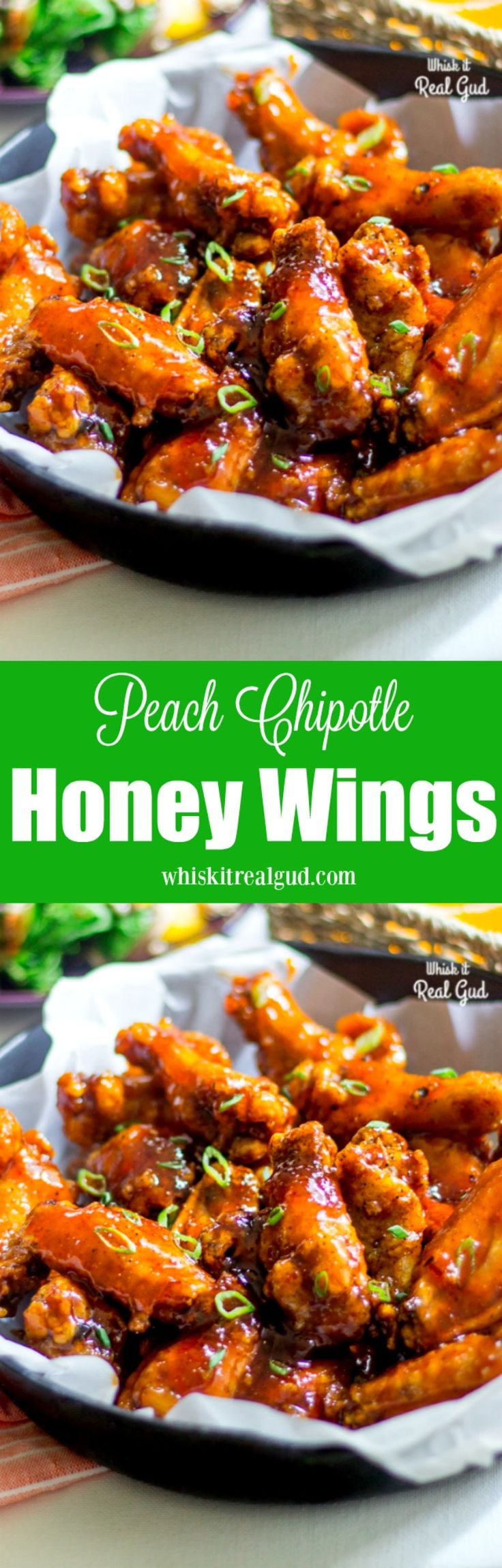 Peach Chipotle Honey Wings will be loved by your entire family and friends! These sticky peachy, crispy, sweet and tangy wings with a bit of…