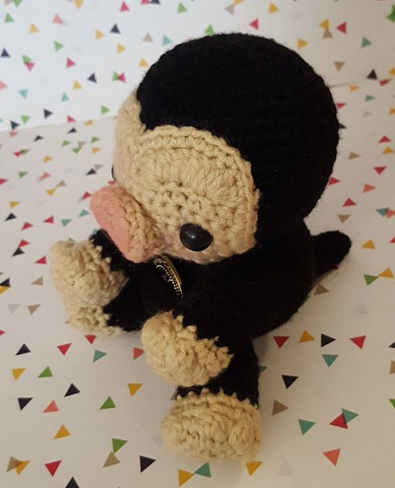 Harry Potter Niffler Amigurumi Pattern PDF - Fantastic Beasts and Where To Find Them - Instant Download