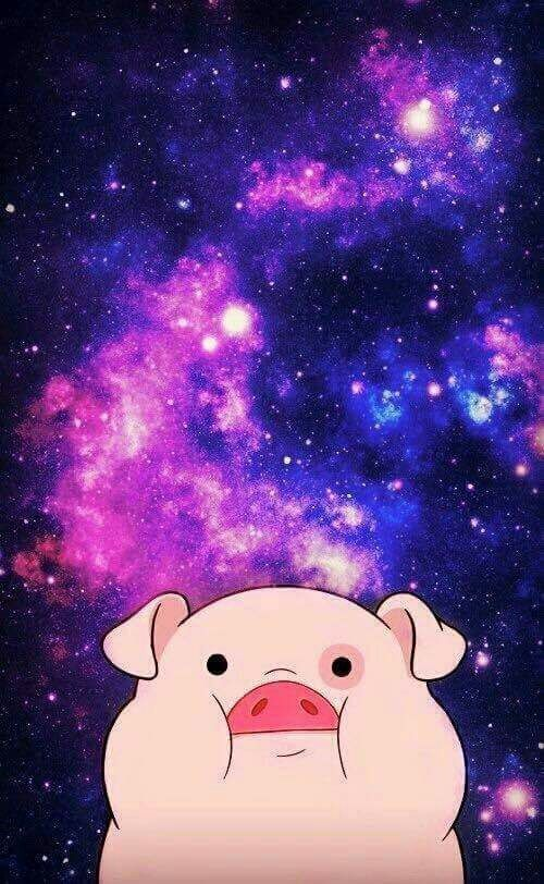 backgrounds, cute, fondos, galaxia, gravity falls, wallpapers, First Set on Favim.com