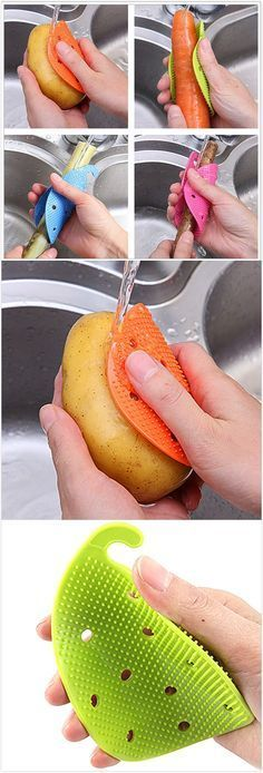 Vegetable Scrubber Brush