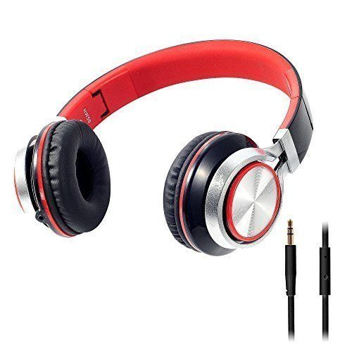 Red kids earphones - apple earphones wired