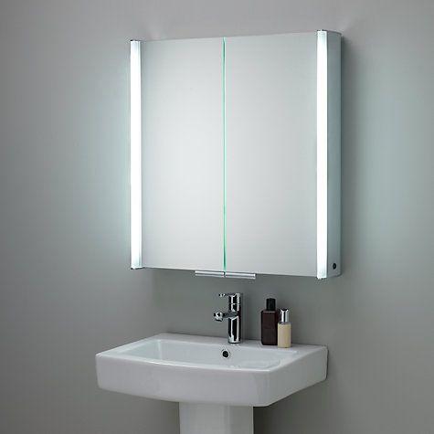 best 25 bathroom mirror with shelf ideas on pinterest. Black Bedroom Furniture Sets. Home Design Ideas