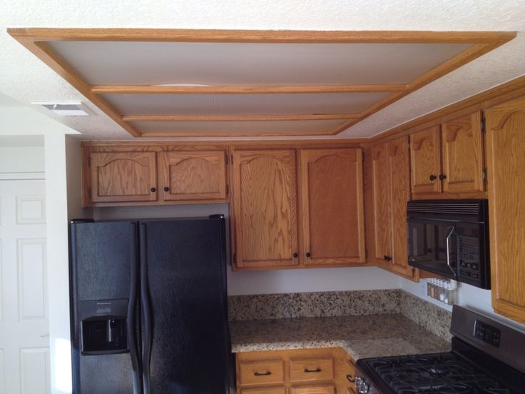 What Is A Kitchen Soffit And Can I Remove It: Old Kitchen Soffit Lighting