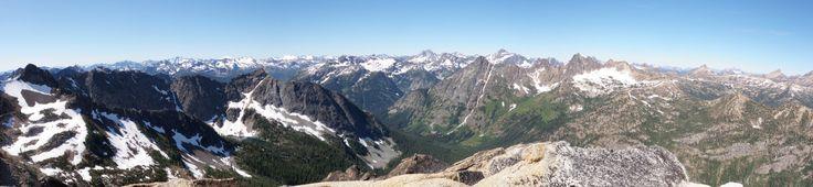 Early Winters Campground Washington | Liberty Bell Mountain : Climbing, Hiking & Mountaineering : SummitPost