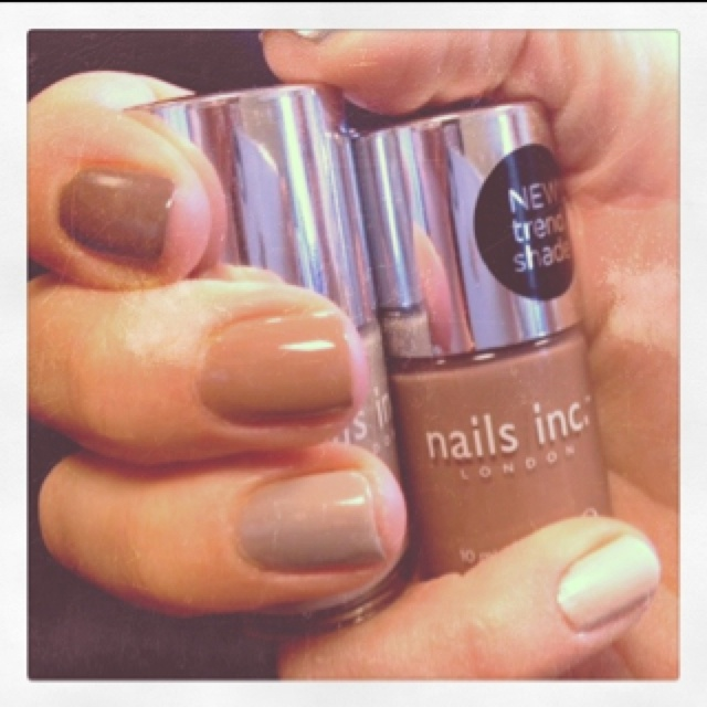 Ombré fun with new Nails Inc Shades!