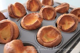 Eat Your Heart Out: Recipe: Best Mini Yorkshire Puddings (Yorkies)