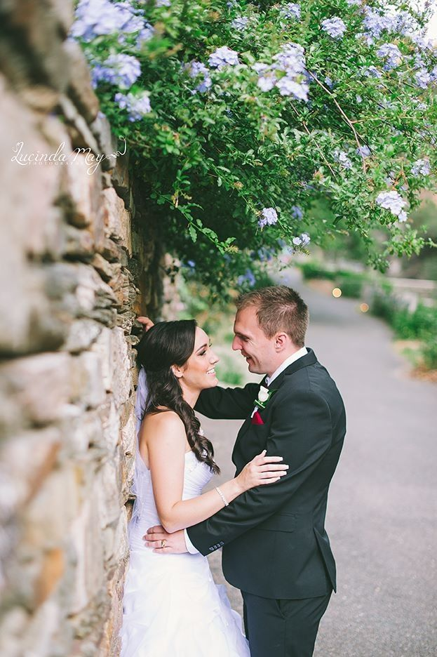 Bride and Groom - photo by Lucinda May Photography