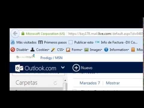 Configuracion de firma electronica en el correo de outlook ver.2
