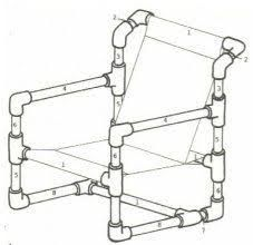 Resultado de imagen para pvc pipe chair