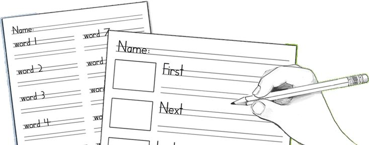 Handwriting Without Tears worksheet maker! Type in their spelling words, click the print button, and take care of spelling and handwriting at one time. Multi-tasking at its best! :)