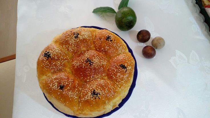 Avokadolu sütlü ekmek