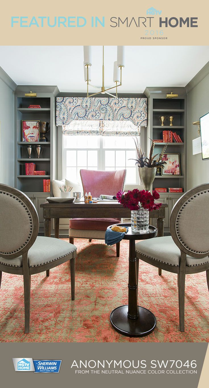 The HGTVSmart Home 2016 office shows that